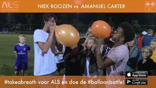 Niek prankt Ama met Balloon Battle voor ALS #TakeABreath