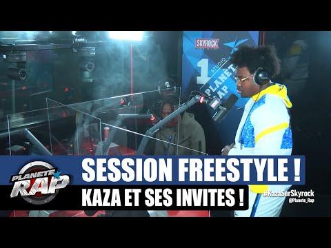 Youtube: Kaza – Session freestyle avec HK La Paille, Nalaa, Delka, Baka, Vavux GG & Popo! #PlanèteRap