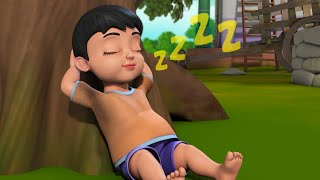 मेरे प्यारे बेटे - Lazy Boy | Hindi Rhymes for Children | Infobells