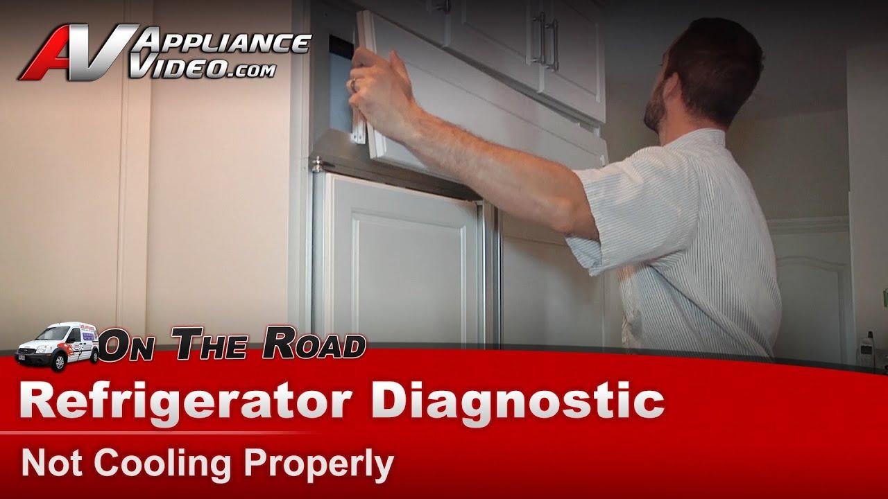 Kitchenaid Refrigerator Not Cooling Properly diagnostic - not cooling properly - refrigerator - subzero-532
