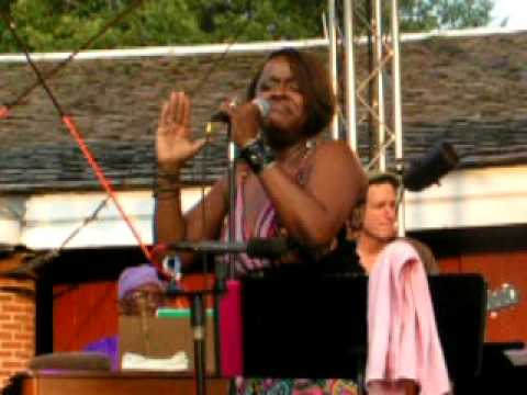 Sly Stone Tribute feat. Sandra St. Victor, Stand, Castle Clinton, NYC 7-16-09