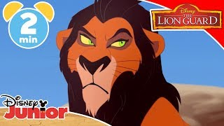 The Lion Guard | When I Became Scar 🙀| Disney Junior UK