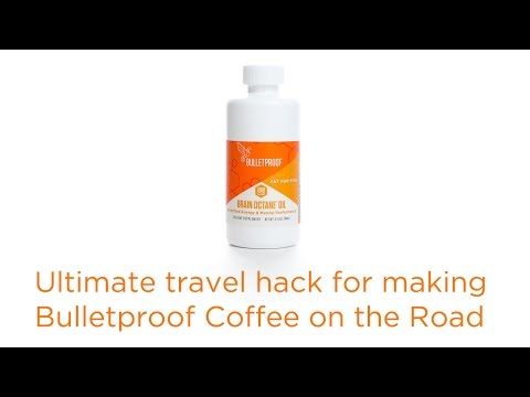 Ultimate travel hack for making Bulletproof Coffee on the Road