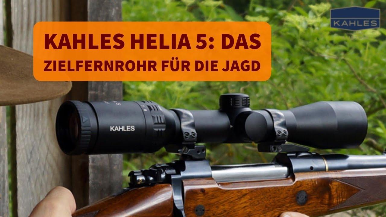 Kahles helia 5: warum ist das zielfernrohr für die jagd besser als