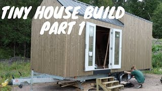 Building Our Norwegian Tiny House  -  Part One