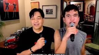 MARTIN  NIEVERA with son SANTINO - Martin In The House 100th Episode