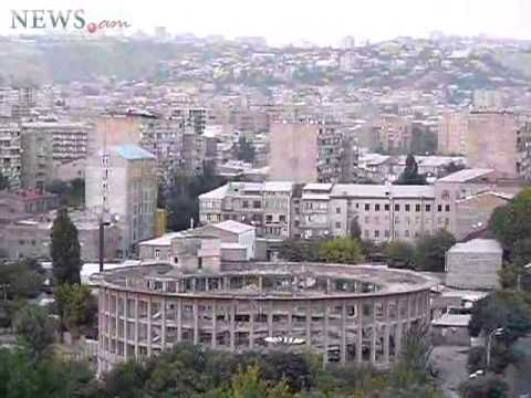 Circus building in Yerevan is destroyed by explosion