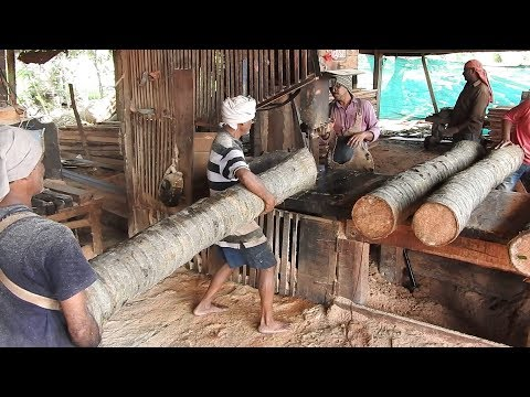 SAWMILL WOOD CUTTING / Small Scale Industries