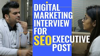 Digital Marketing Interview Question and Answer | SEO career advice In Hindi