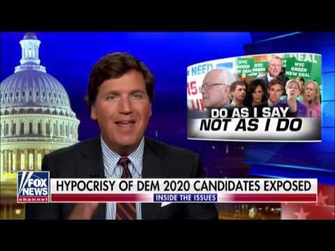 Tucker Carlson Smears Bernie Sanders