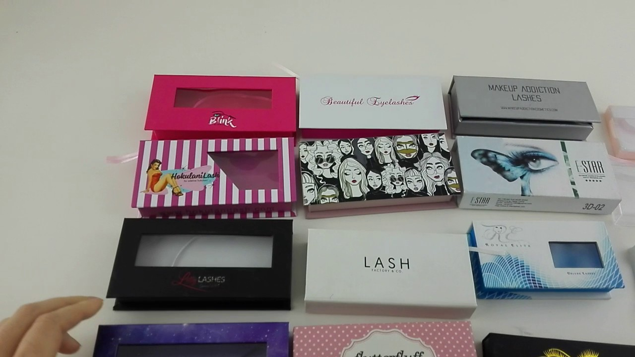 717802b00c5 Yilucai Eyelash Box Manufacturer China Packaging Box Factory - YouTube