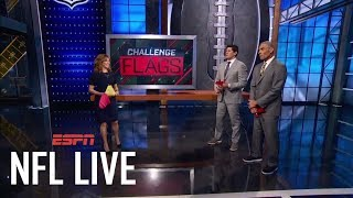 NFL Live throws challenge flags one final time with Herm Edwards | NFL Live | ESPN