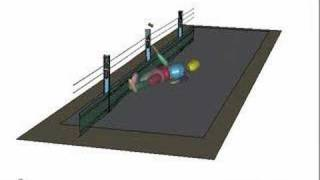 Wire crash barriers 2