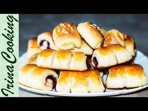 Дрожжевое слоёное тесто для Круассанов – Видео рецепт