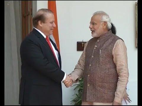 Amid hostilities at LoC, Modi meets Sharif in Astana