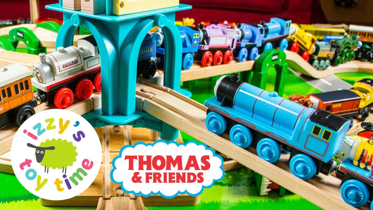 Thomas Train Huge Train Collection Thomas And Friends