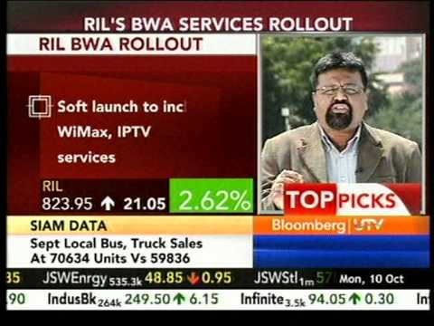 Bloomberg|UTV EXCLUSIVE : RIL to soft-launch Broadband Services on Laabh-Paancham