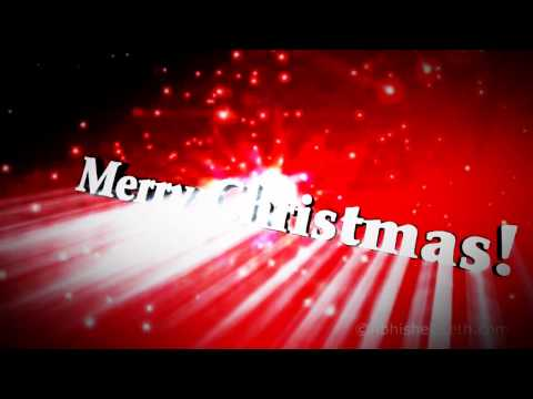 Xmas 2014 - Merry Christmas Greeting to All of You! Animated Music Video