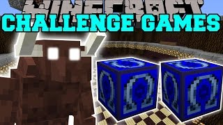 Minecraft: MINOTAUR CHALLENGE GAMES - Lucky Block Mod - Modded Mini-Game