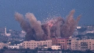 Dozens of airstrikes in retaliation for Hamas rocket fire