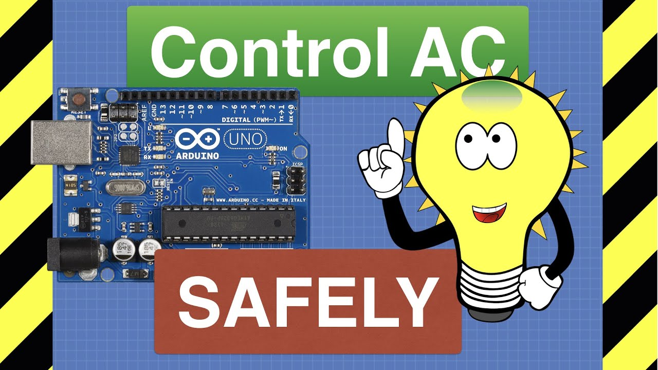 Control AC Devices with Arduino SAFELY - Relays & Solid State Switches