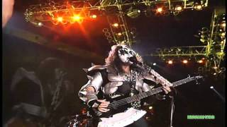 KISS - Cold Gin [ Dodger Stadium 10/31/98 ]