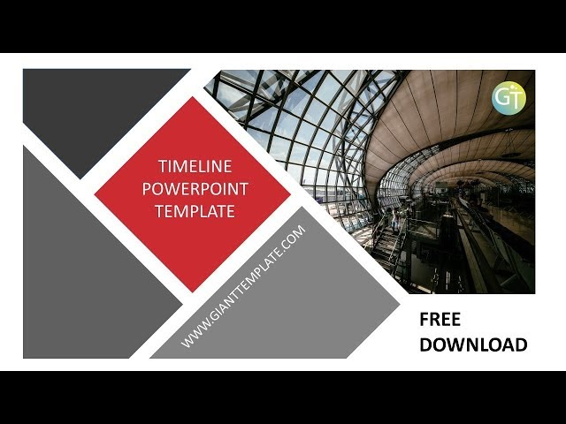 timeline powerpoint template free download 20 slide free