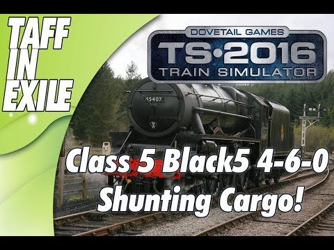 Train Simulator 2016 - E1 - Cargo Shutting with Steam power