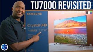 Samsung TU7000 Crystal UHD 4K TV REVISITED