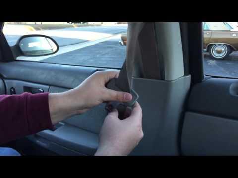 How To Fix Slow Retracting Or Stuck Seat Belt Doovi