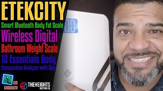 #Etekcity Smart Bluetooth Body Fat Scale 😅 : LGTV Review