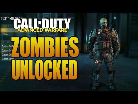 Advanced Warfare: How to Unlock Zombies Multiplayer Equipment & EXO!