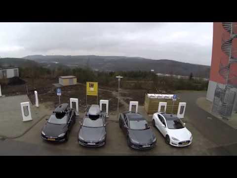 Tesla Road Trip   Europe gets Supercharged Germany, Netherlands, Austria, Switzerland now open