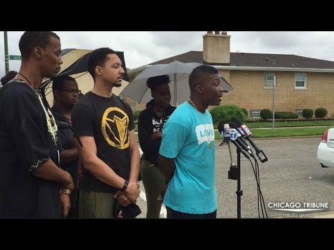 Activists Decry Killing of Chicago Police Officer's Son