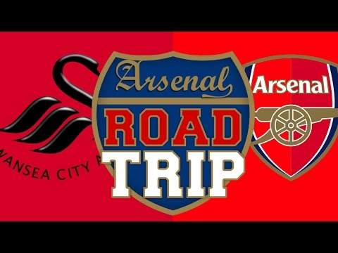 Swansea vs Arsenal | Road Trip To Liberty Stadium