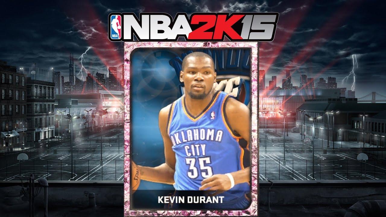 a1f2ad43f315 NBA 2K15 - Pink Diamond Kevin Durant - YouTube
