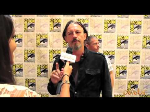 Sons of Anarchy's Tommy Flanagan at Comic Con  a Celebs.com Original