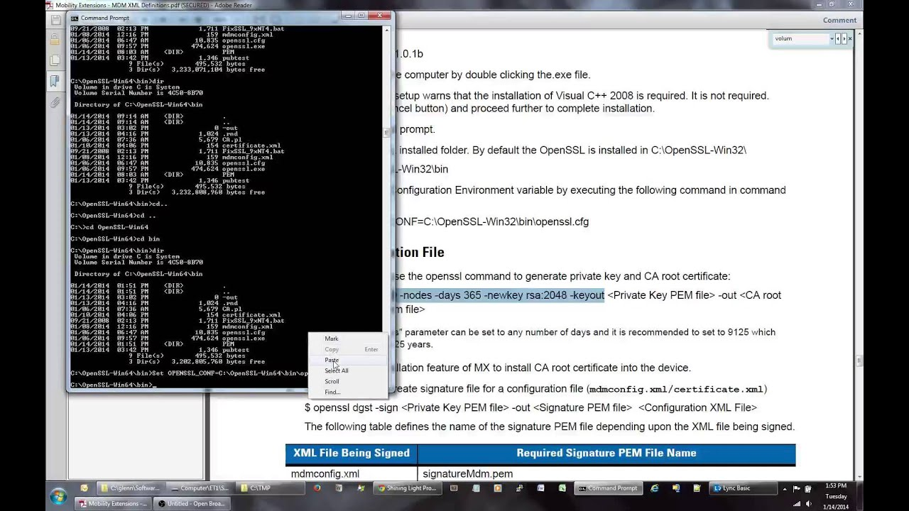 Openssl install and cert creation youtube 1betcityfo Gallery