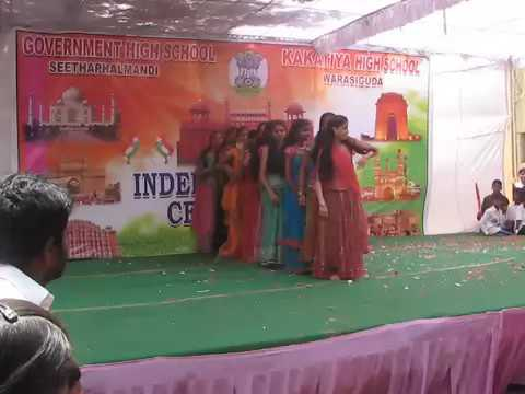Desh rangila 10th girl dance Kitasar  independece day