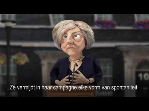 De ironie van Theresa May - de Volkskrant