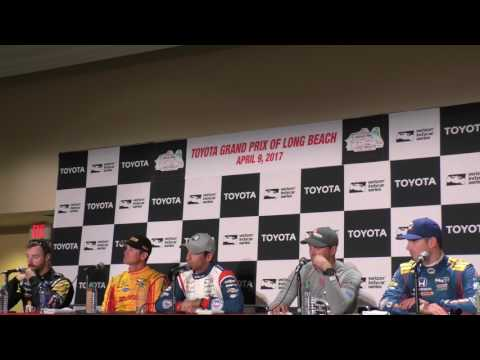 2017 Long Beach GP Post Qualifying Press Conference   Part 3