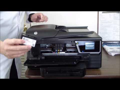 HP Officejet 6700 Premium Unboxing & Setup