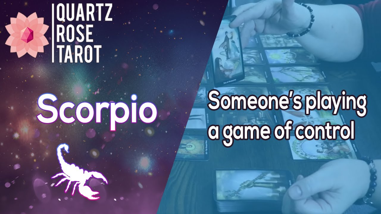 ♏ Scorpio 🦂 Someones playing a game of control 🎮 May 11th