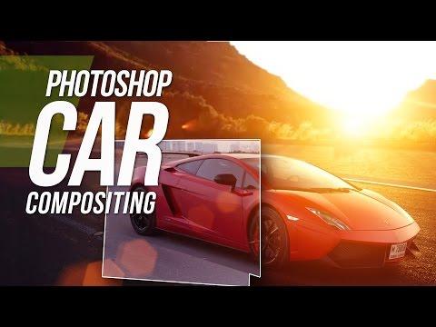 Photoshop CS6 Tutorial - Car Compositing - Photoshop Tutorial