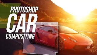 Photoshop CS6 Tutorial - Car Compositing In Photoshop & Plugins