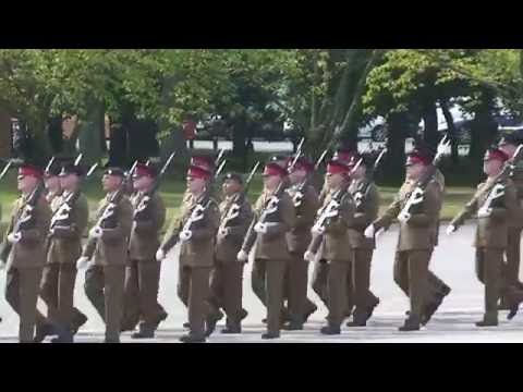 John`s  passing out parade at Pirbright 5th August 2016