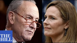 Schumer SLAMS Amy Coney Barrett being selected for Supreme Court