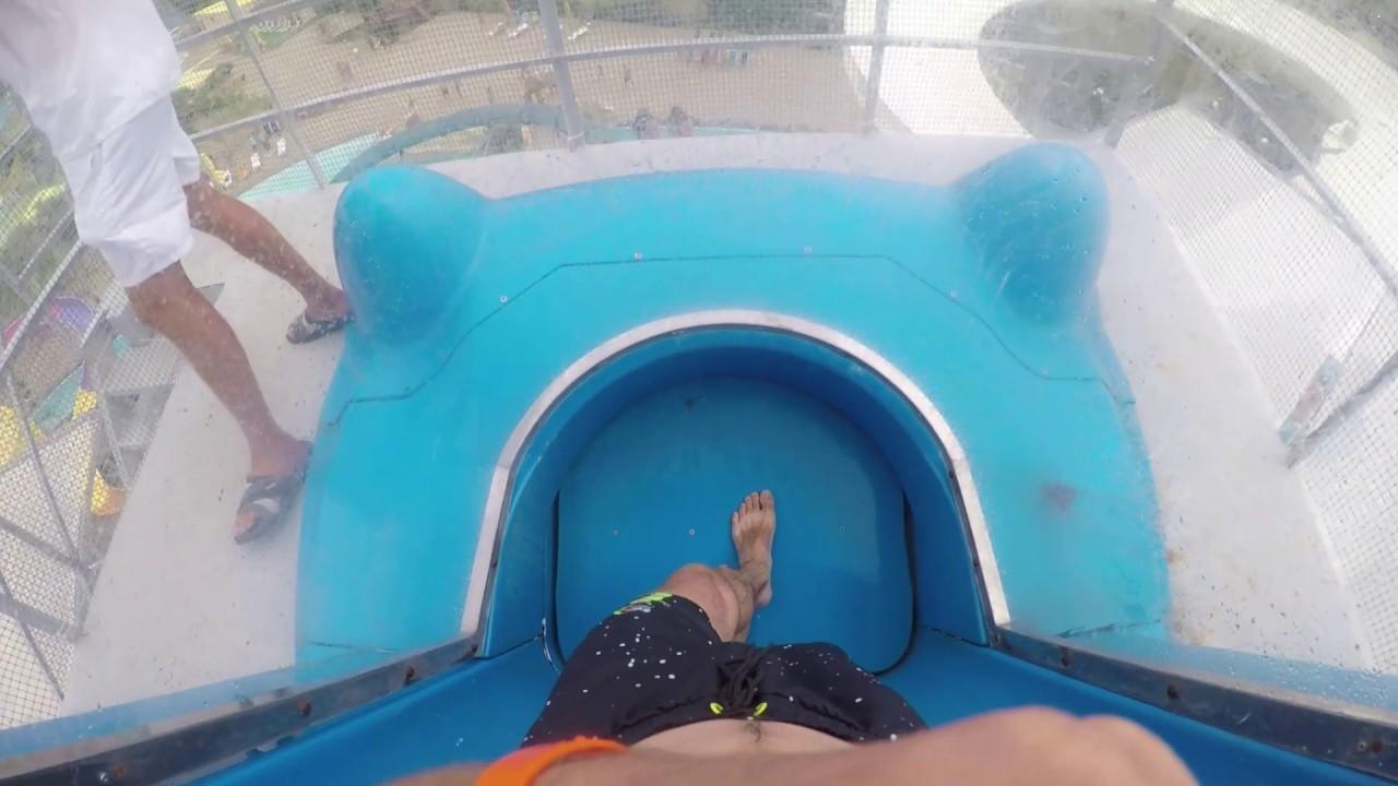 Горка в аквапарке камикадзе фото