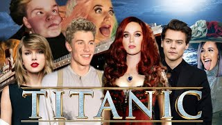 TITANIC...but with celebrities(inspired by@VanityLessons @marvelntuk )