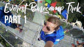 Everest Basecamp Trek (Days 1-3: Lukla Flight to Namche Bazaar) I Nepal Travel Vlog 003